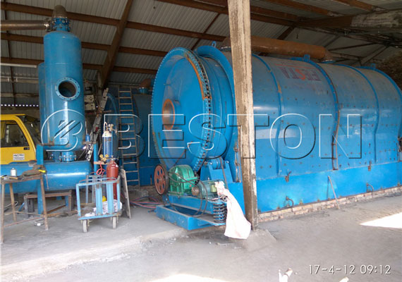 Pyrolysis Equipment In Hungary