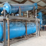 The Pyrolysis Equipment Installation Site In Hungary