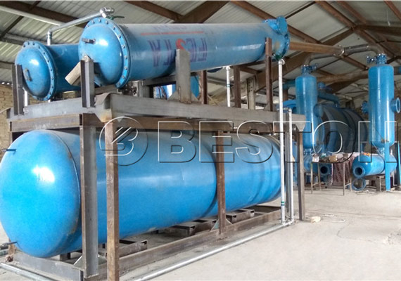 Pyrolysis Equipment Installation Site In Hungary