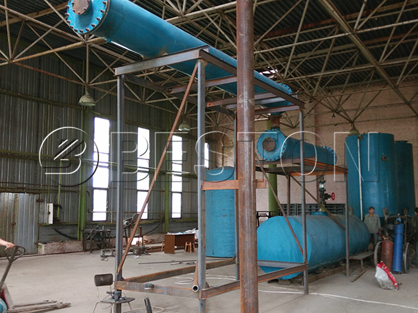 Waste Oil Distillation Plant in Ukraine