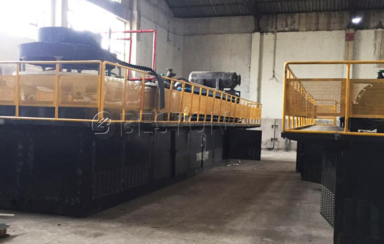Beston Tyre Pyrolysis Machine Installed in South Africa