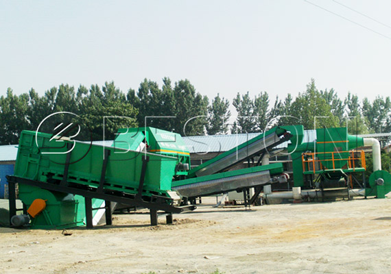 Automatic recycling sorter