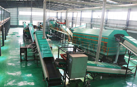 Automatic waste sorter
