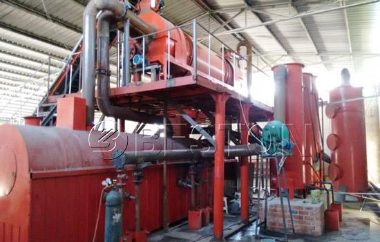 Biomass charcoal machine