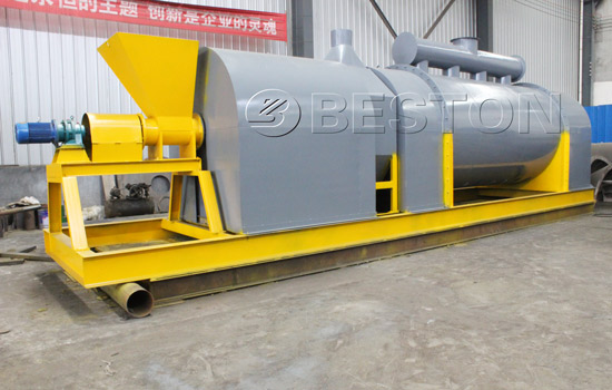 Biomass to charcoal machine