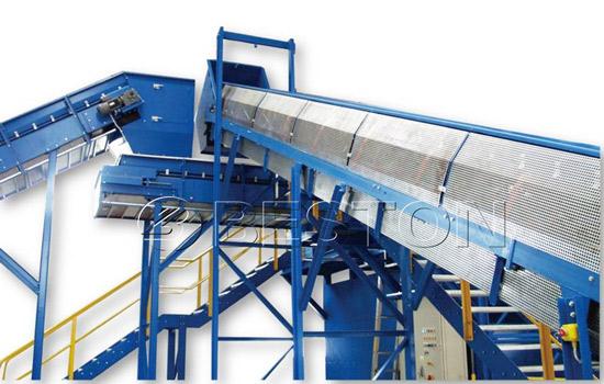 Sealed belt conveyor