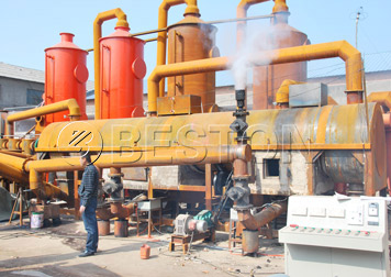BST-12 biochar production equipment