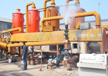 BST-10 palm shell charcoal machine