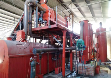 BST-20 biochar production equipment