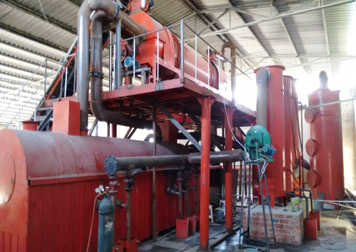 BST-20 palm shell charcoal machine