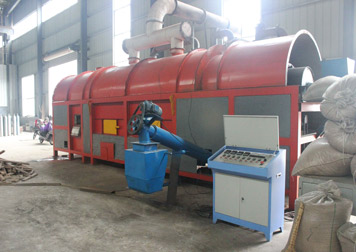 BST-3 palm shell charcoal machine