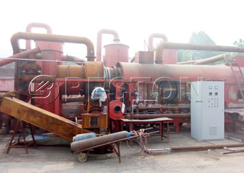 BST-30 biochar production equipment