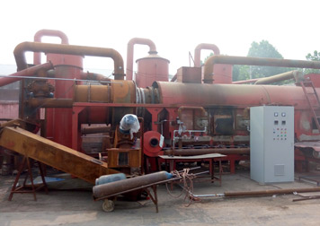BST-30 palm shell charcoal machine