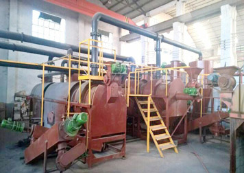BST-5 palm shell charcoal machine