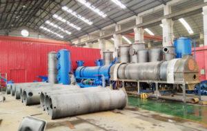 Biochar production equipment