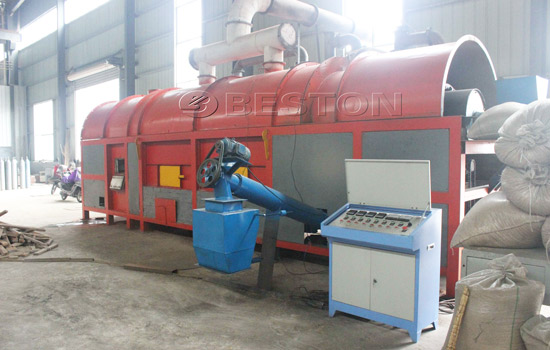 Rice husk carbonization furnace