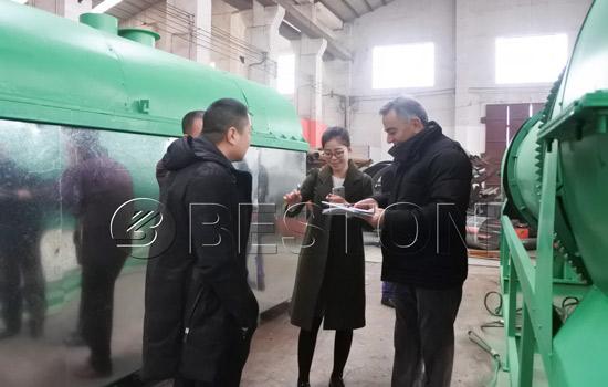 Turkey customers visit Beston Machinery