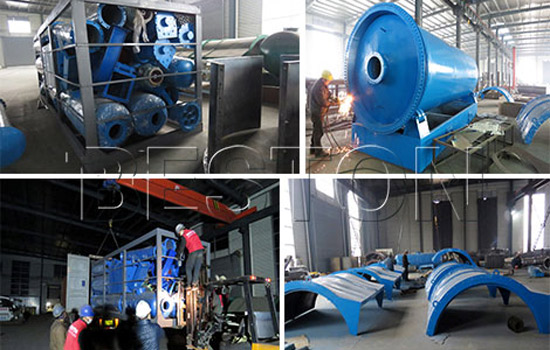 Beston Plastic Pyrolysis Plant Installed in Dominican