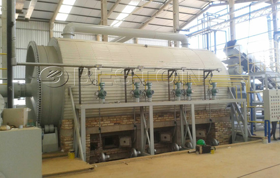 Plastic recycling plant installation in Brazil