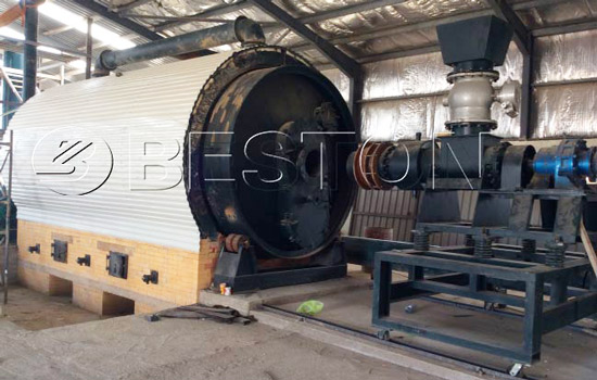 BLJ-16 Beston Waste Pyrolysis Machine for Sale in Jordan