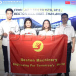 Beston (Henan) Machinery Co.,Ltd will Pay a Visit of 8 Days to Thailand!