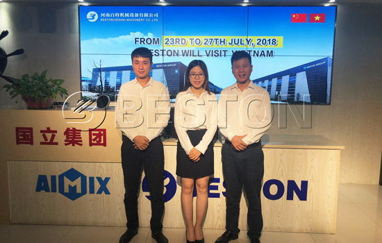 Beston Team of Vietnam Visit in July, 2018