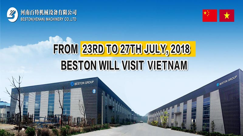 The Visit of Beston Group to Vietnam from 23rd to 27th July, 2018