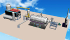 BLJ-6 Tire Recycling Plant-3D Model