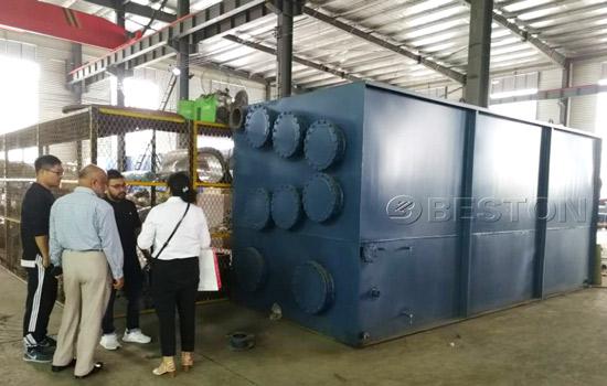 Bangladesh Customer Visited Beston Pyrolysis Equipment