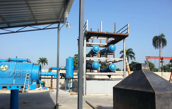 Beston Mini Plastic Recycling Machine Installed in Dominican