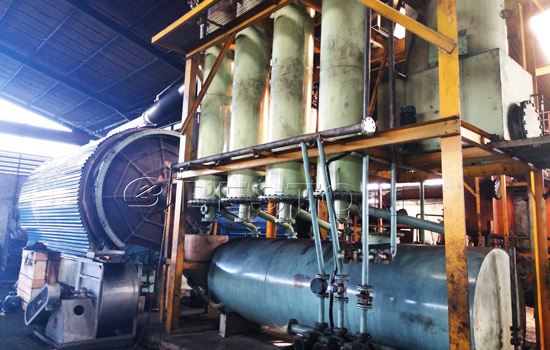 Beston Small Scale Recycling Machine Installed in Indonesia