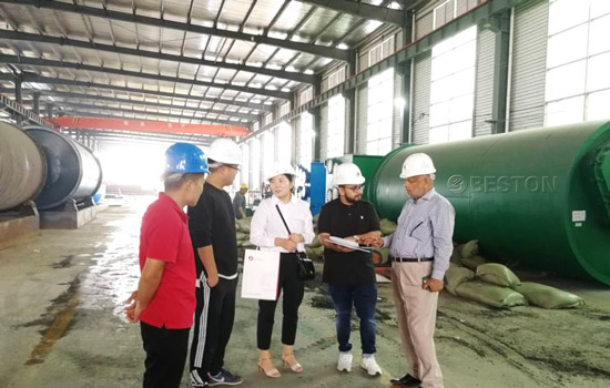 Welcome the Visit of Bangladesh Customer to Beston Machinery in September, 2018