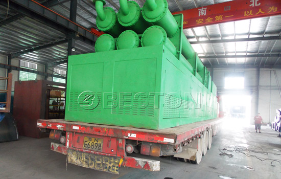 Beston Pyrolysis Machine was Shipped to Romania
