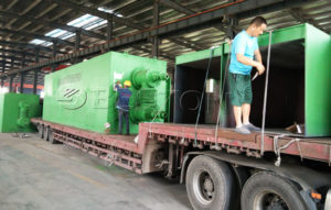 Beston Pyrolysis Plant was Shipped to Romania