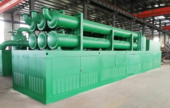 Beston Pyrolysis Plants Were Shipped to the Philippines