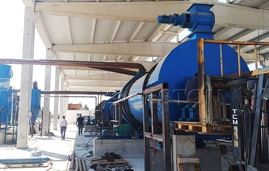 Beston Charcoal Making Equipment Was Succesfully Installed in Turkey