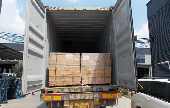 Recording Shipment Process of Pyrolysis Machine to Romania