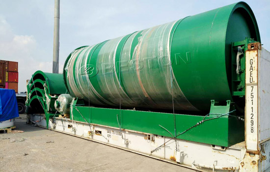 Shipment of BLL-10 Beston pyrolysis plant to Canada
