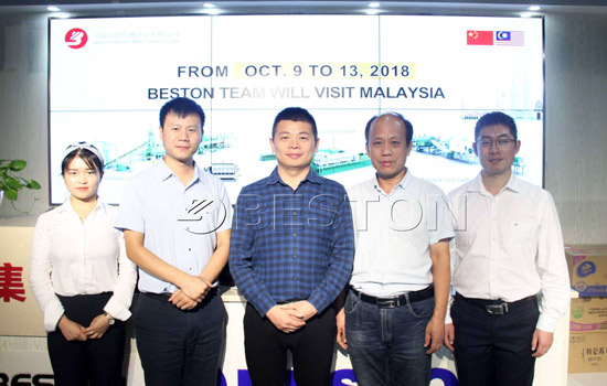 Visit of Beston Group to Malaysia in October, 2018