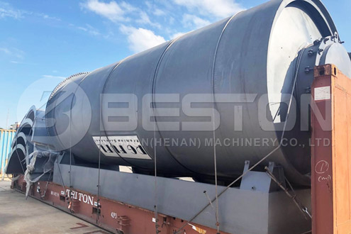 BLL-16 Beston Tyre Recycling Machine in South Africa