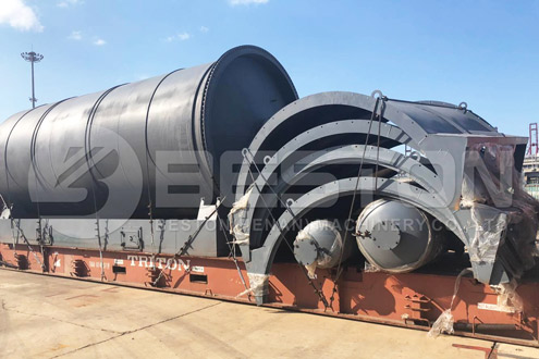 Shipment of Tyre Pyrolysis Equipment to South Africa