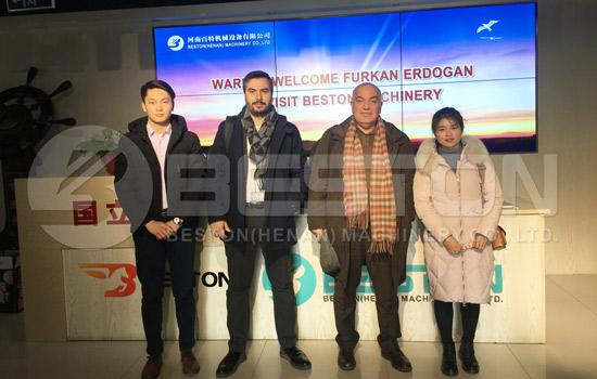 Turkey Customers Visited Beston Machinery