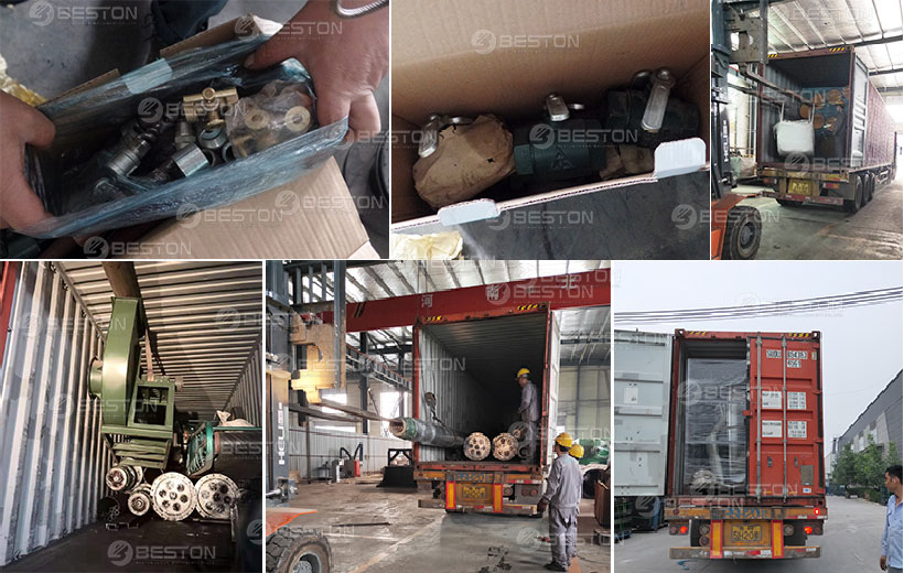 BLJ-16 Pyrolysis Machine Shipped to Romania