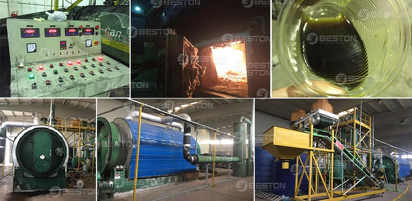 Beston Waste Pyrolysis Machine Installed in Turkey