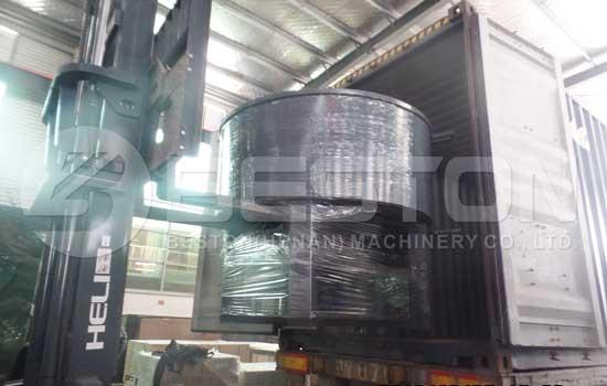 Small Pyrolysis Plant Shipped to Uganda