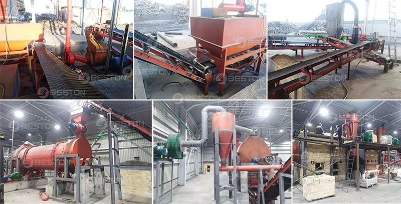 Beston Wood Charcoal Machine Installed in Ukraine