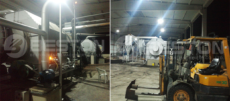 Biomass Carbonization Plant in Turkey