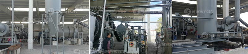 Installation of Biomass Carbonization Plant in Turkey