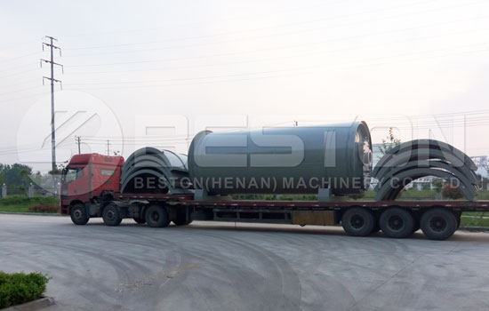 Beston Tire Pyrolysis Plant Delivered to Brazil