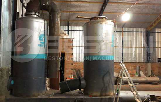 Installment of Beston Tyre Pyrolysis Machine in Paraguay